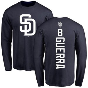 Javy Guerra San Diego Padres Youth Navy Backer Long Sleeve T-Shirt -