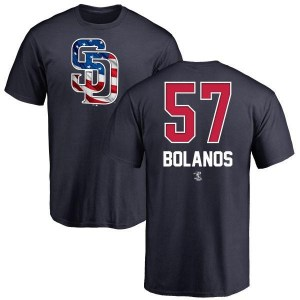 Ronald Bolanos San Diego Padres Youth Navy Name and Number Banner Wave T-Shirt -