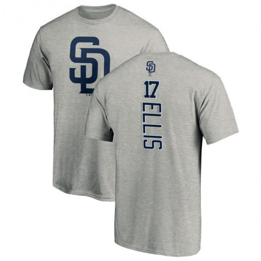 A.J. Ellis San Diego Padres Men's Backer T-Shirt - Ash